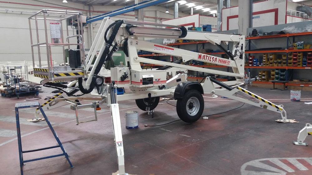 Piattaforme aeree Matilsa Parma17