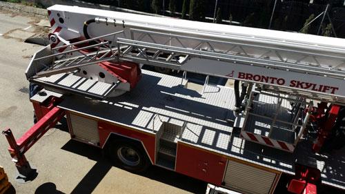 Camión bomberos reparado en Matilsa