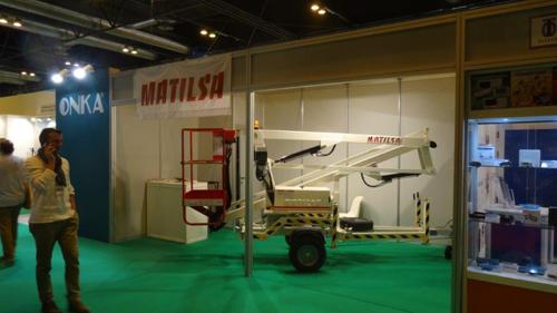 Aerial work platform Matilsa Parma 9