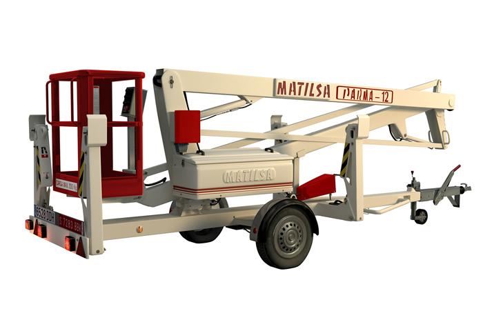 Aerial work platform Matilsa Parma12