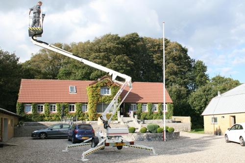 Trailer mounted aerial work platform Matilsa Parma12t