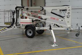 Trailer mounted aerial work platform Matilsa Parma15t