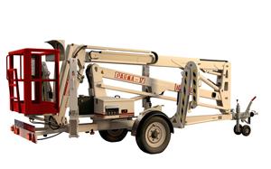 Trailer mounted aerial work platform Matilsa Parma17