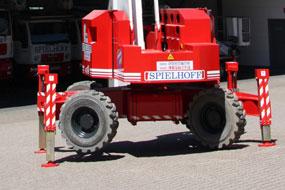 Selbstfahrenden arbeitsbühnen model  Matilsa Parma21D