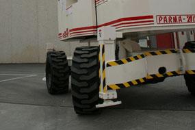 plataforma elevadora autopropulsada Matilsa Parma21D